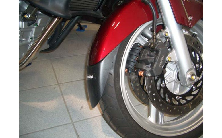 Voorspatbord verlenger zwart Honda NT650