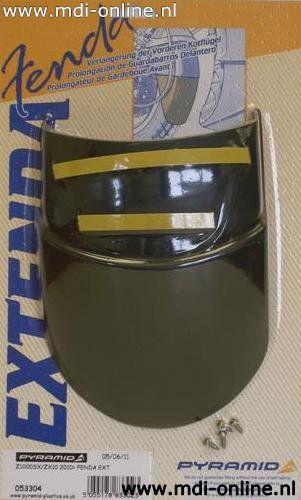 Voorspatbord verlenger zwart Kawasaki Z1