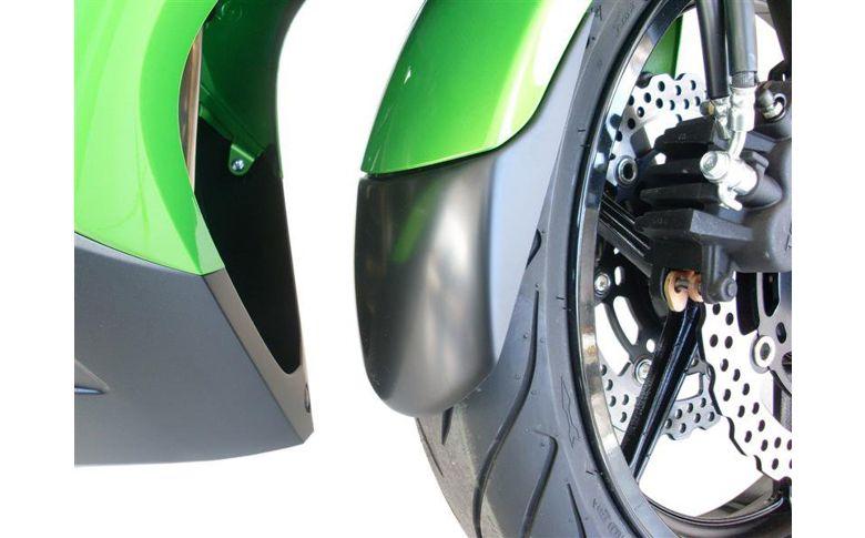 Voorspatbord verlenger zwart Kawasaki ER