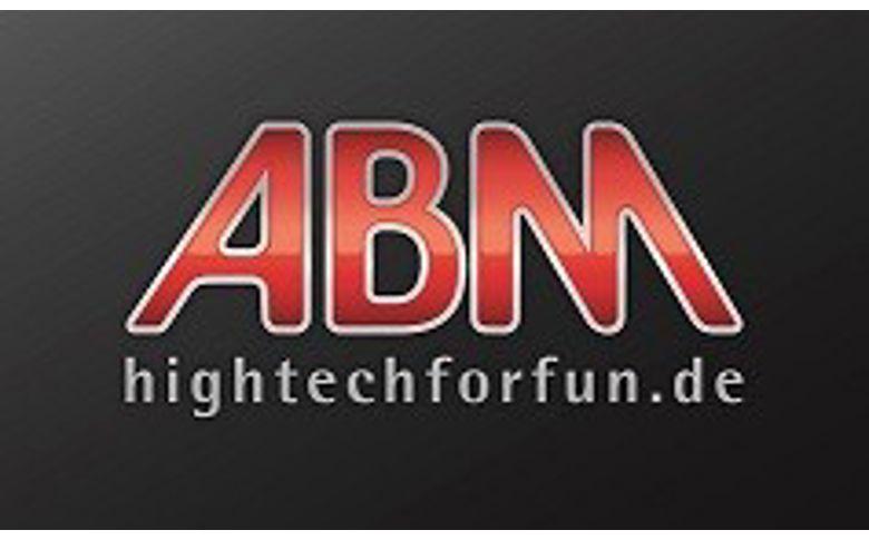 Koplampbeugels zwart lang 50mm - ABM
