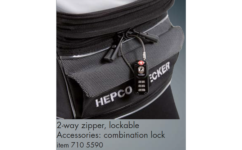 Rear bag Street lock-it Hepco&Becker