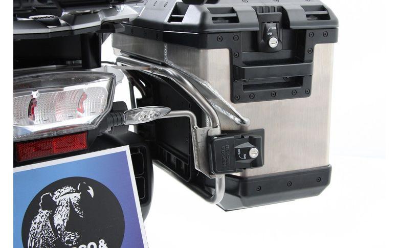 Kofferset H&B 'Cutout' zilver