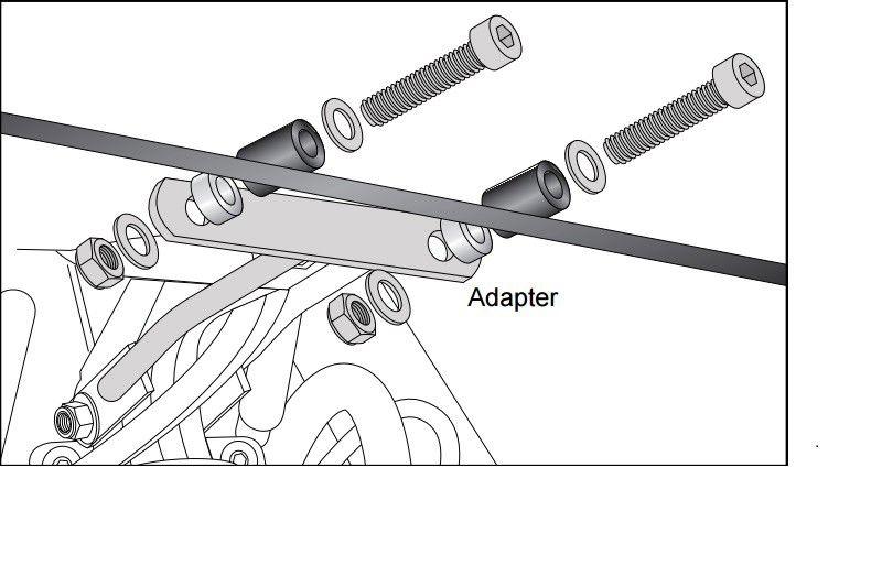 Headlight grill (adapter) Hepco&Becker