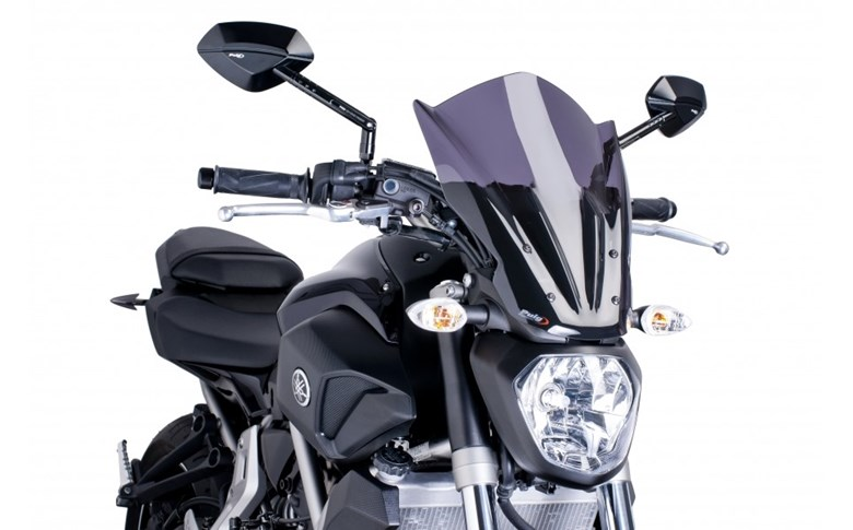 Vervangingsruit naked bike touring Puig