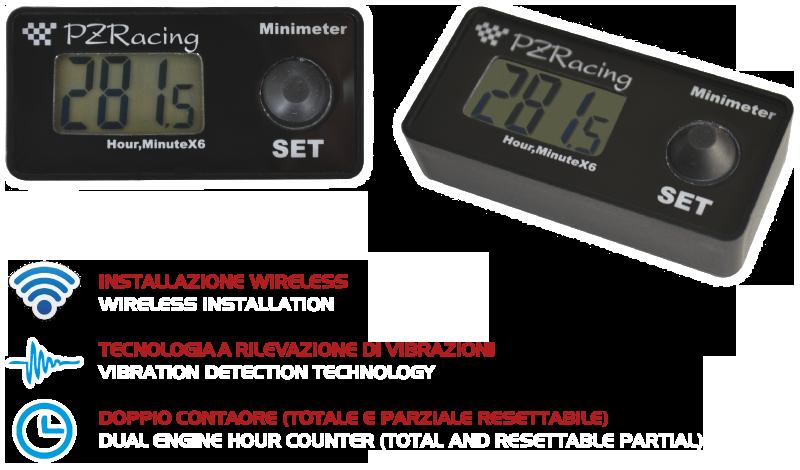 PZRacing minimeter (urenteller)