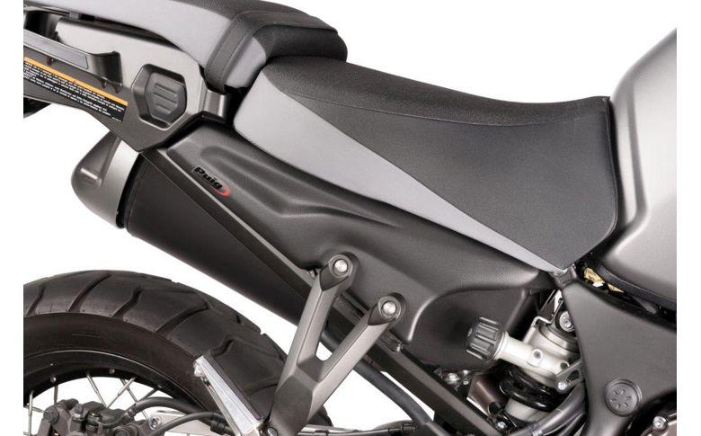 Side cover panel Puig mat zwart