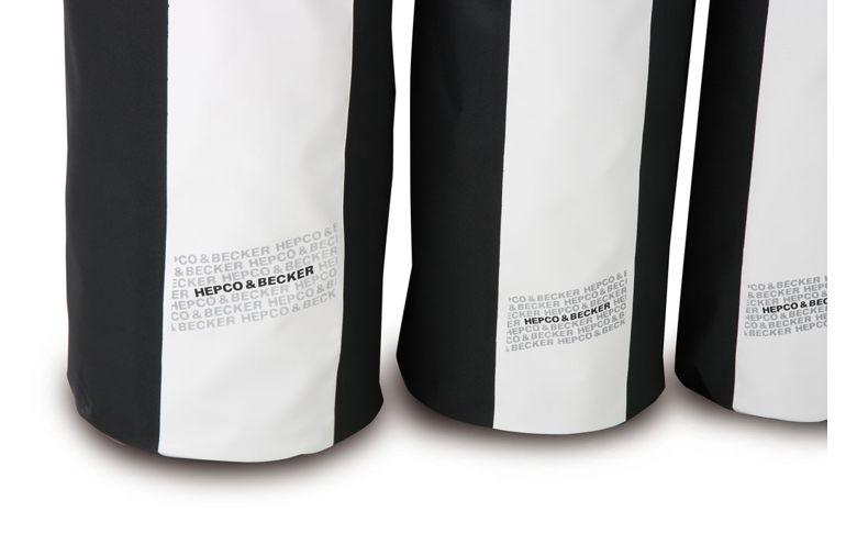 Pack Bag white bagagerol - 59 liter