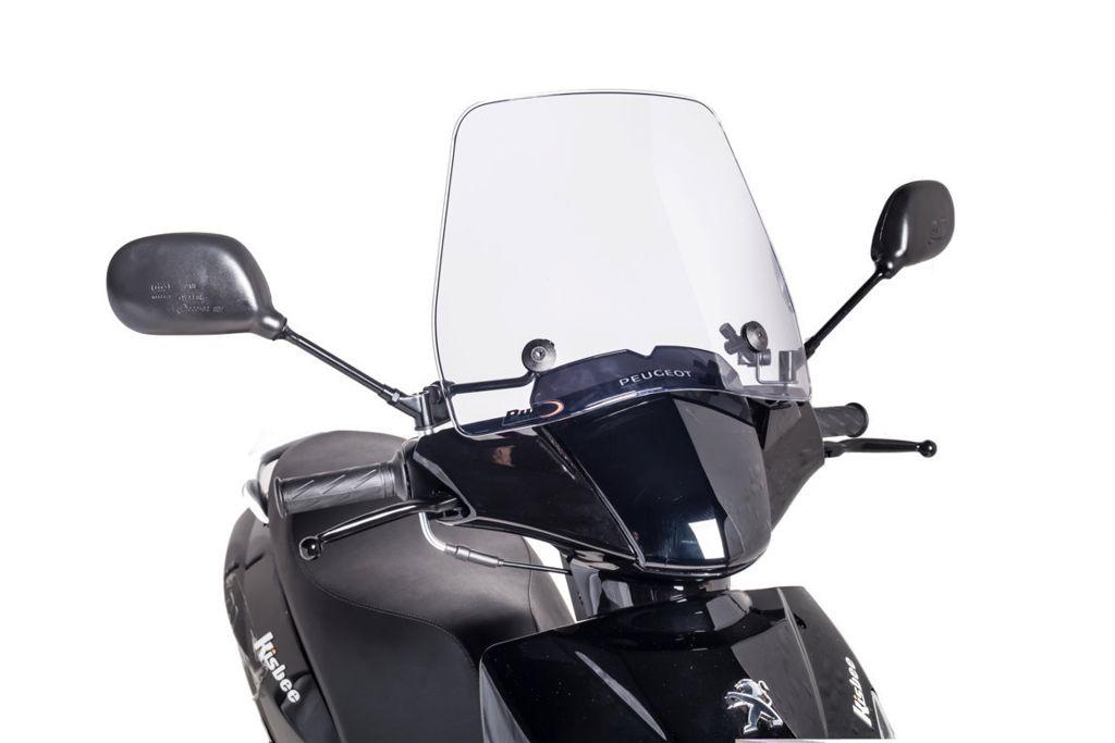 Windscherm scooter Traffic Puig helder