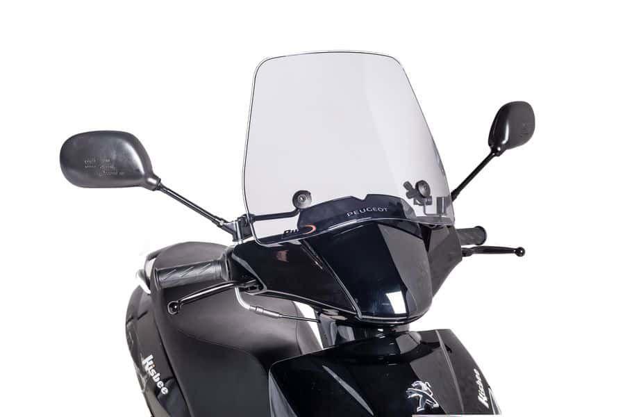 Windscherm scooter Traffic Puig licht