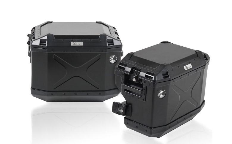 Kofferset H&B 'Cutout' zwart