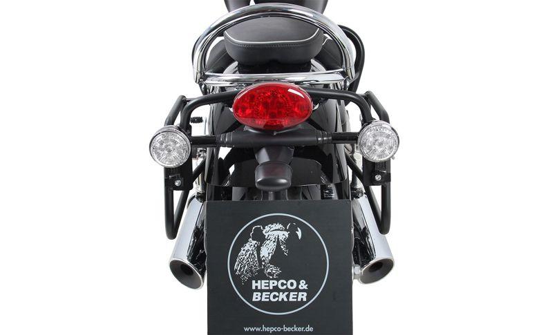Kofferrek zwart Hepco&Becker