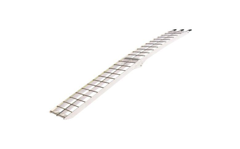 Oprijplaat opklapbaar aluminium