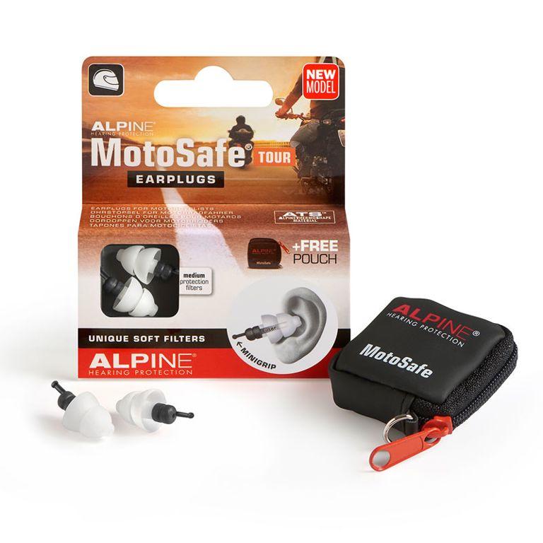 MotoSafe oordoppen model TOUR Alpine