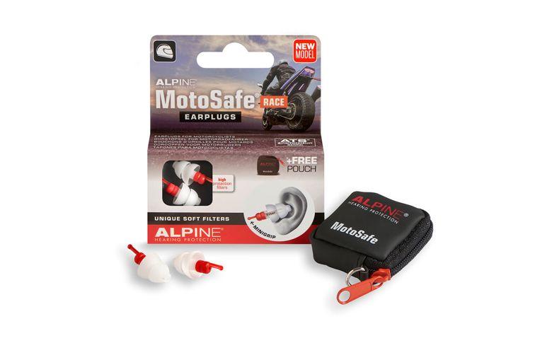 MotoSafe oordoppen model RACE Alpine