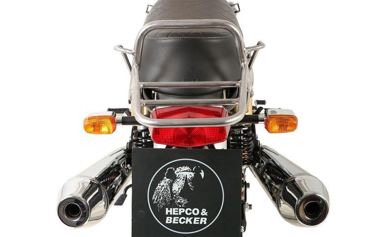 Topdrager 'Tube Rack' chroom HepcoBecker