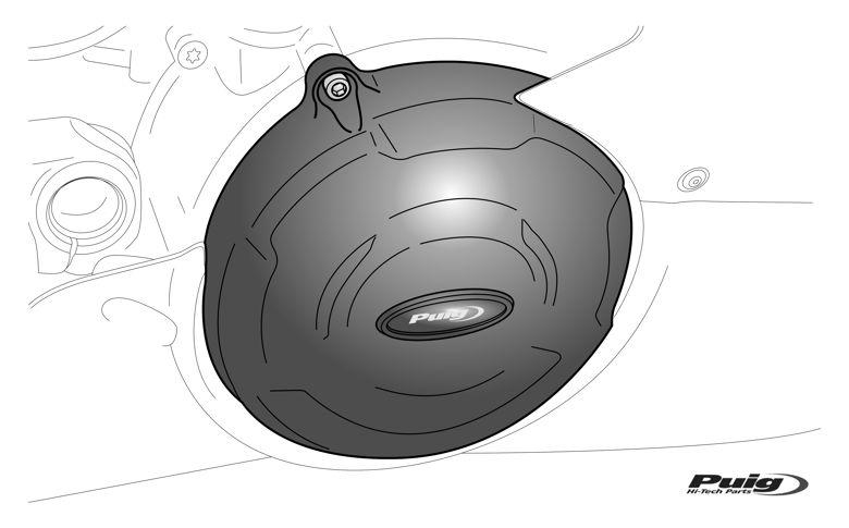 Engine cover set Puig