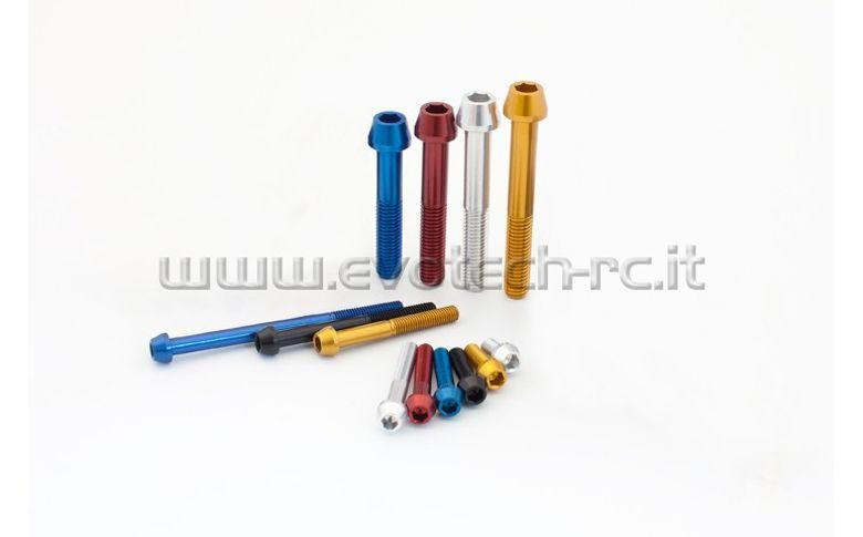 Aluminium boutjes TCCE M8x55