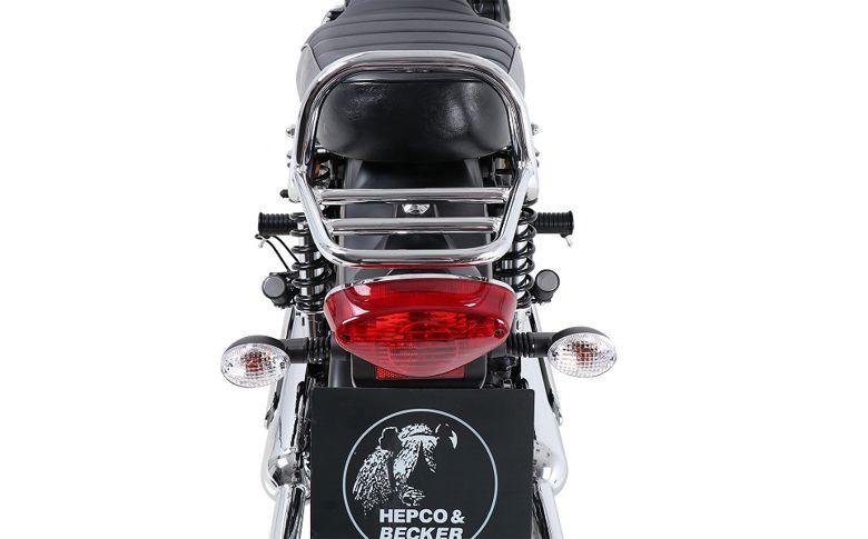 Topdrager chroom Minirack Hepco&Becker
