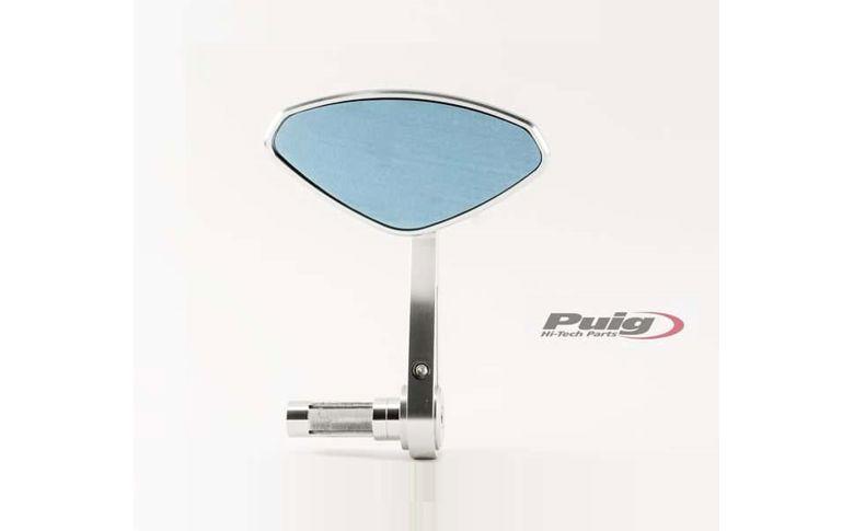 Stuureind spiegel Hi-Tech IV zilver Puig