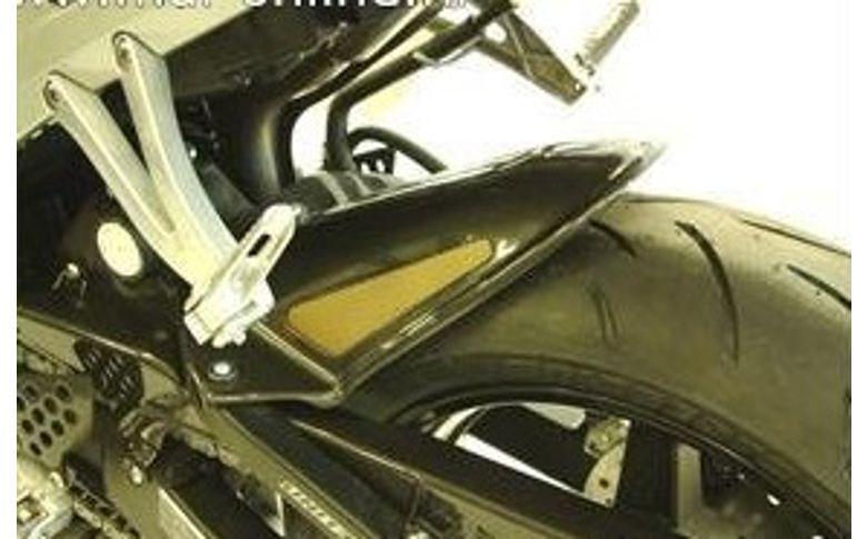 Achterspatbord sport-line carbon look