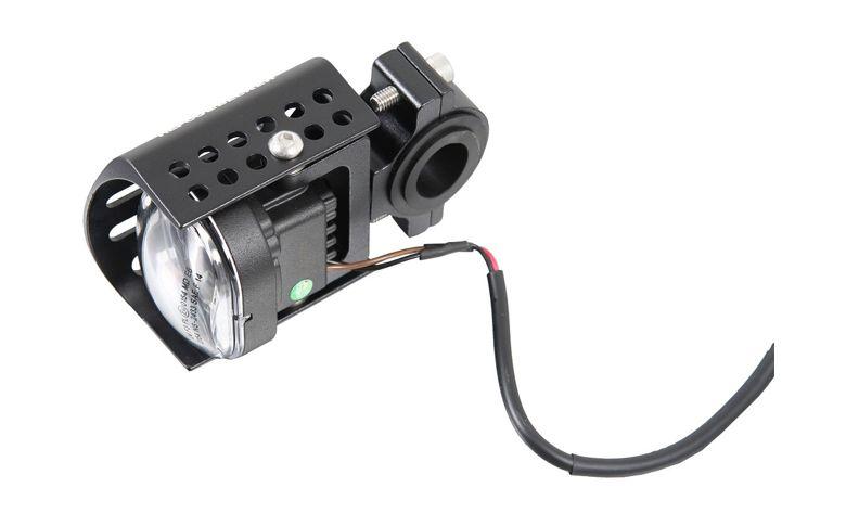 LED Flooter mistlampenset H&B zwart