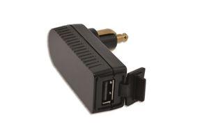Haakse DIN stekker met USB ingang