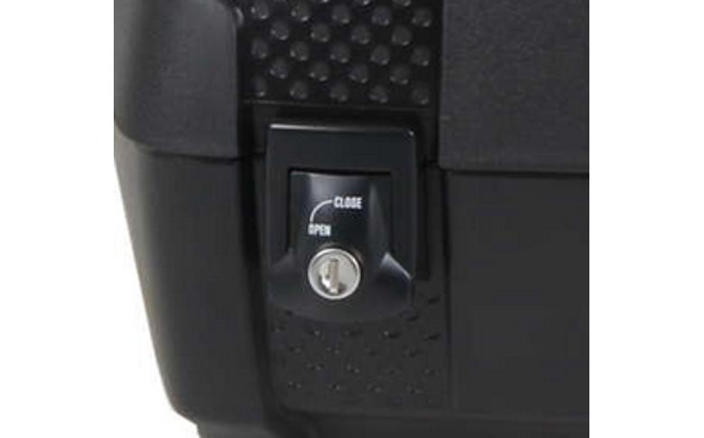 Kofferdekselslot zwart Hepco&Becker