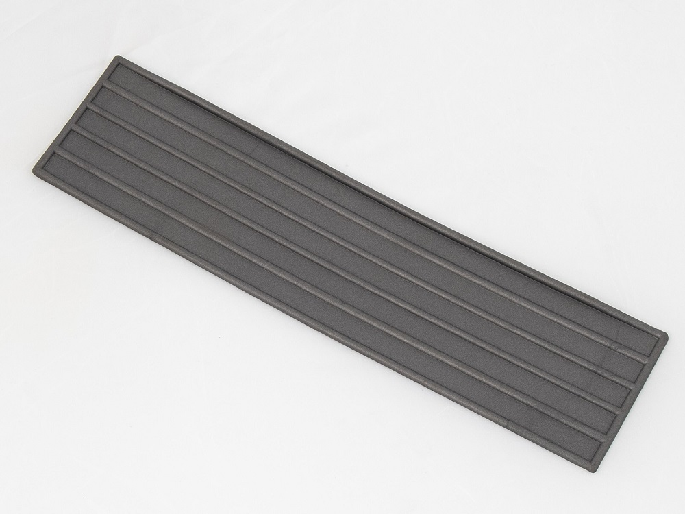 Scharnierafdekking zwart Gobi zijkoffer
