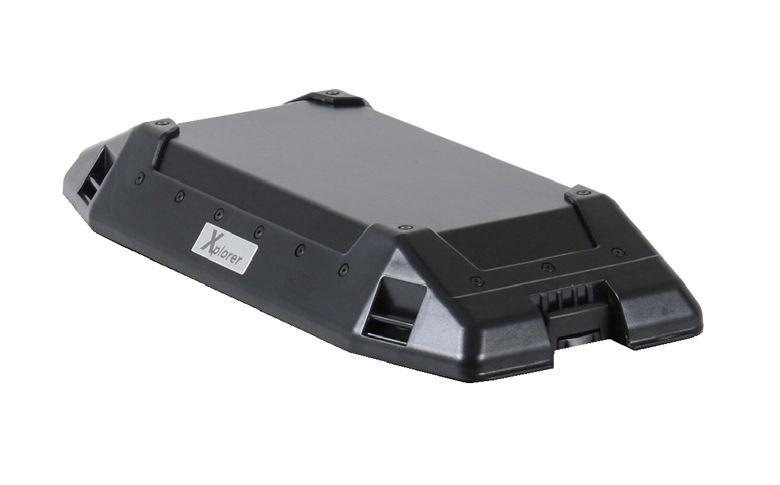 Deksel zwart Xplorer 30ltr zijkoffer