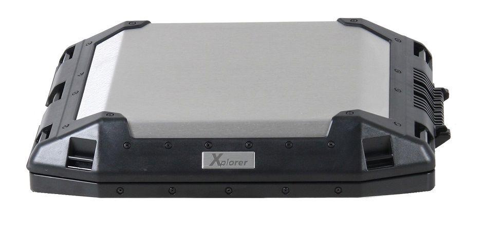 Deksel TC45 Xplorer zilver Hepco&Becker