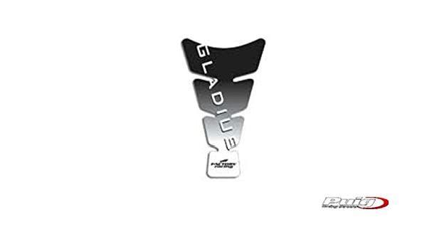 Tankpad transparant met Gladius logo