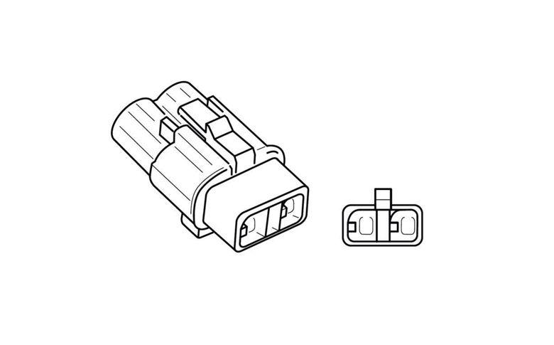 Kentekenplaatverlichting kabel Kawasaki