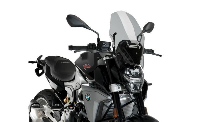 Vervangingsruit naked bike zonder suppor