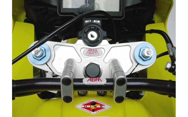 Superbikestuurombouw kroonplaat UVK